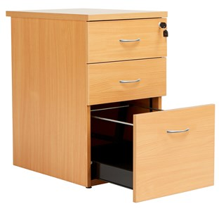 Fraction Plus Desk High Drawer Set